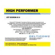 High Performer ATF Dexron III H 1 Litres Boîte