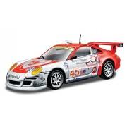 2008 Porsche 911 GT3 RSR [Bburago 38003], #45, Flying Lizard Motorsports, van Overbeek / Henzler, 1:43 Die Cast