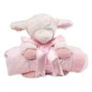 Gund Baby Blanket Set, Winky Lamb Pink (Discontinued by Manufacturer) (Discontinued by Manufacturer) by Gund Baby