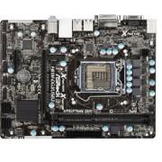 ASRock H61M-DG3/USB3Scheda Madre, Nero