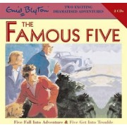 Five Fall into Adventure & Five Get into Trouble by Enid Blyton