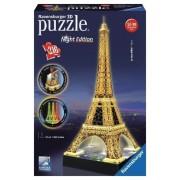 Puzzle 3D - Turnul Eiffel noaptea, 216 piese