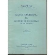 Leçons Progressives De Lecture Et De Rythme En Six Volumes Volume 2 Clé De Sol Et Fa 4ème