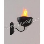 Lampa electrica care imita flacarile, pentru perete