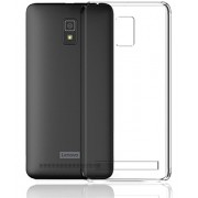 M.G.R.J Lenovo A6600 / Lenovo A6600 Plus - Ultra Thin 0.3mm Clear Transparent Flexible Soft TPU Slim Back Case Cover