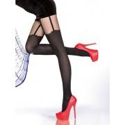 Ciorapi pantalon imitatie portjartier Fiore Milla 40 den