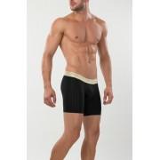 Mundo Unico Vietnam Mid Boxer Brief Underwear Black/Light Gold 15300940-99