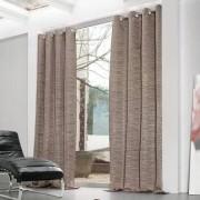 """Vorhang """"Rain"""", 1 Vorhang, 150 x 260 cm - Mocca/Schwarz"""