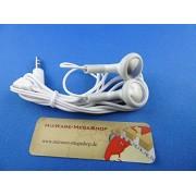 10 - ALTA CALIDAD AURICULARES auricular con micrófono para todos los móviles con 3,5 mm Jack, MP3