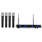 Malone UHF 550 Quartet1 UHF Wireless Microphone Set 4-Channel