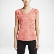 Nike Printed Miler V-Neck Women's Running Shirt