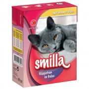 6 x 380g Bucățele în gelatină Smilla - cu pui & curcan