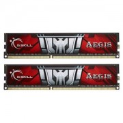 Memorie G.Skill Aegis 8GB (2x4GB) DDR3 1600MHz PC3-12800 CL11 1.35V, Dual Channel Kit, F3-1600C11D-8GISL