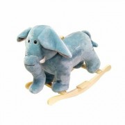 Happy Trails Plush Elephant Rocking Animal 80-76ELEPHANT