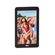 TABLET AOC 7 / A726 / IPS LCD CAPACITIVA / COLOR NEGRO / ANDROID 6.1 / INTEL QUAD CORE 1.3 GHZ / RAM 1GB / 8GB / MICRO SD / MICRO USB / CAM 2MP 0.3MP / WIFI / RESOLUCION 1024 X 600