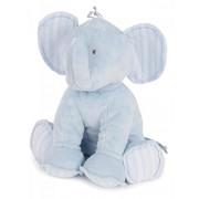 Tartine et Chocolat - peluche elefante 35 cm azul cielo bebé niño tostadas y Chocolate azul