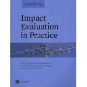 Impact Evaluation in Practice by Paul J. Gertler