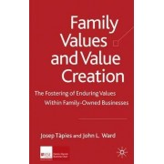 Family Values and Value Creation by Josep Tapies