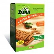Enerzona Cracker 40-30-30 7 Minipack Da 25 Gr Rosmarino