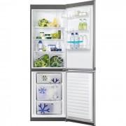 Combina frigorifica Zanussi ZRB36101XA, 329 l, Clasa A+, H 185 cm, Inox antiamprenta