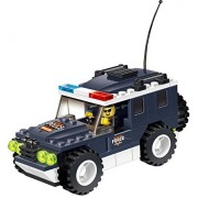 High Speed Police Wagon 114 Pcs Building Block Set