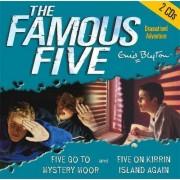 Five Go to Mystery Moor & Five on Kirrin Island Again by Enid Blyton