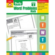 Daily Word Problems, Grade 4 Math by Evan-Moor Educational Publishers