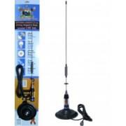 Antena CB PNI ML70 lungime 70cm si talpa magnetica 145 mm