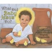 What Did Baby Jesus Do? by Virginia Esquinaldo