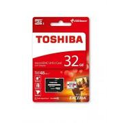Toshiba Exceria Memoria M301 32GB MicroSDXC Classe 10 48 Mbps con Adattatore SD