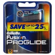 Gillette Fusion Proglide 1Ks 4Pcs Replacement Blades Per Uomo (Cosmetic)