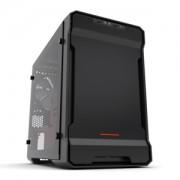 Carcasa Phanteks Enthoo Evolv ITX Tempered Glass Edition, RGB LED - Black/Red
