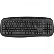 Мултимедийна клавиатура HAMA Cellino, USB, Черна, HAMA-53932