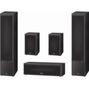 Pachet 5.0 Magnat Monitor Supreme 1002 + 102 + Center 252 Negru + AVR-X1300 Bonus Boxa Portabila Bluetooth Maxell + Casti Maxell Super Slim