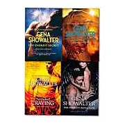 The Darkest Collection Gena Showalter 4 Books Set Lords of the Underworld series