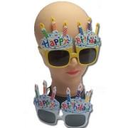 Szemüveg, Happy birthday felirattal