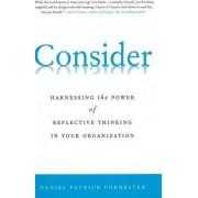 Consider by Daniel Patrick Forrester