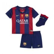Nike2014/15 FC Barcelona Stadium Home (3-36 months) Infants' Football Kit