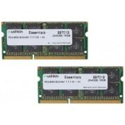 Mushkin SO-DIMM 16GB DDR3 Essentials 16GB DDR3 1066MHz geheugenmodule