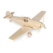 Messerschmitt Bf 109 QUAY de artesanía en madera Kit de construcción FSC