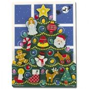 Melissa & Doug Holiday Tree Chunky Puzzle