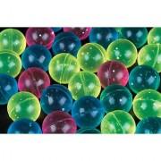 1 Dozen 60mm Assorted Colored Glitter Balls Super Bouncy Ball