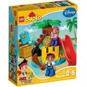Lego Klocki LEGO Duplo 10604 Jake i piraci z Nibylandii na Wyspie Skarbów