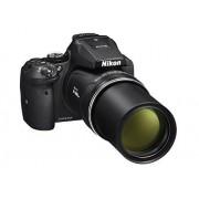 """Nikon Coolpix P900 Multipo Cámara Digital Compacta, 16 MP, 83 X Zoom, VR, Pantalla LCD de 3"""", 16 Mpx, Full HD, Wi-Fi, GPS y GLONASS, QZSS, Color Negro"""