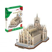 3D Puzzle Duomo Milan Cathedral Church St Mary Milan Italy Cubicfun 251 Pieces