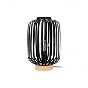 Miliboo Lampe à poser design acier noir ALVEOL