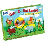 Patch Products Dot - 2 - Dot Lacing Alphabet Animals