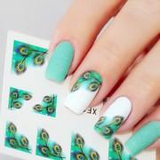Nail Art prego etiqueta Jóias de Unhas / Autocolantes de Unhas 3D