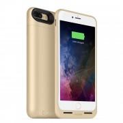 Mophie Juice Pack Air - удароустойчив кейс с вградена батерия 2420mAh и безжично зареждане за iPhone 7 Plus (златист)