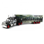 Heavy City 12 Semi Electric RC Truck Full Cargo Trailer 1:36 Scale RTR Ready To Run Rechargeable by Velocity Toys